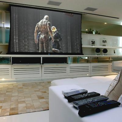 Home theater, automação de ambiente residencial