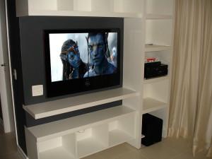 Home Theater e automação de luz e som