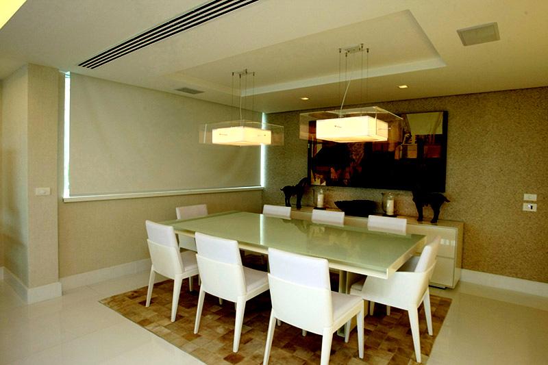 integração com sala de jantar