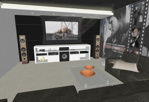 Perspectiva home theater