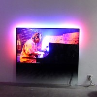 A TV Philips DesignLine foi projetada para se encostar a uma parede